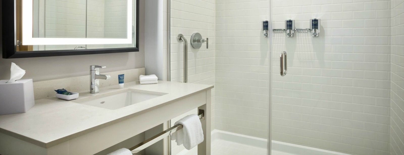 Miami Airport Accommodations - Traditional King Guest Room - Bathroom